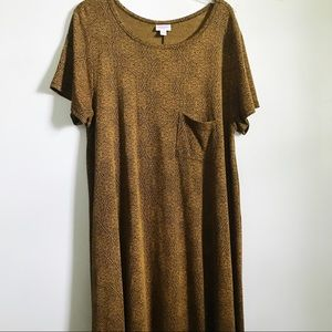 Lularoe Gold Aztec Carly